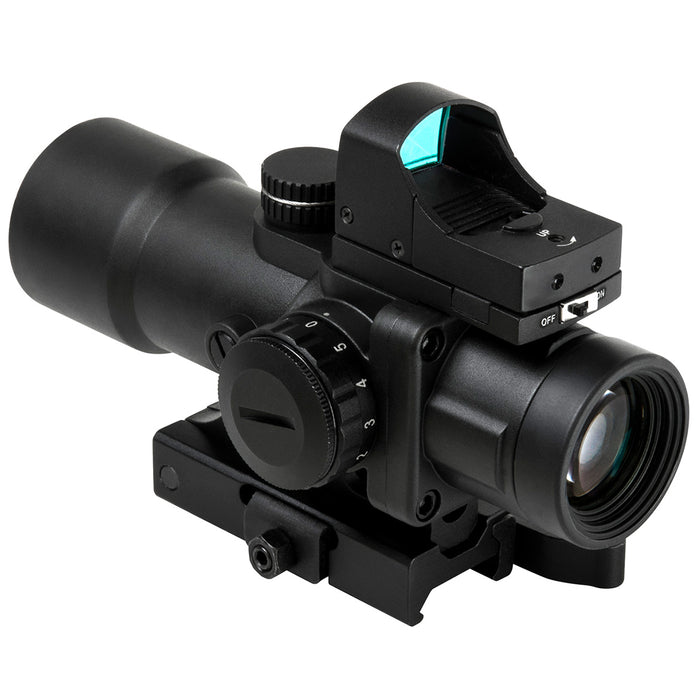 NcStar SEECPRQ3532GD-A 3.5x32mm Micro Red Dot Compact Prismatic Optic Scope