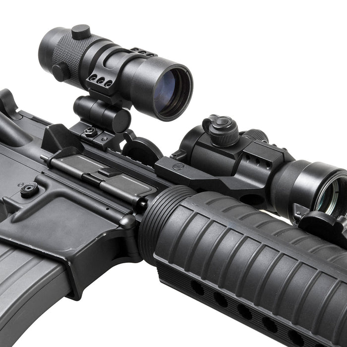 NcStar SMAG3XFLP 3x Quick-Release Flip To Side Mount Scope Magnifier
