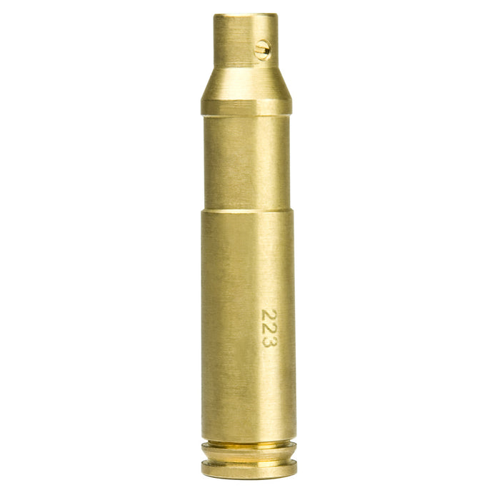 NcStar TLZ223 .223 Remington Brass Cartridge Red Laser Bore Sighter