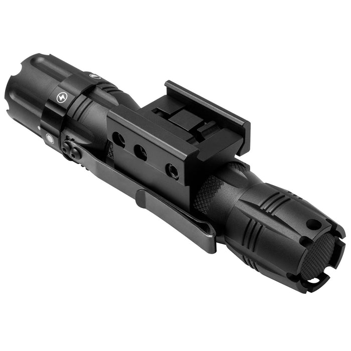 NcStar VATFLBM 5-1/4-Inch 250-Lumen Pro Series LED Hunter Flashlight w/ Mount