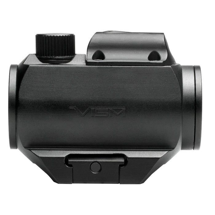 NcStar VDGRLB 1x25mm Integrated Red Laser Micro Green Dot Reflex Sight, Black