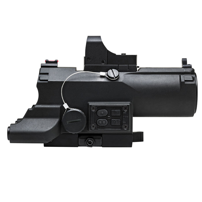 NcStar VECO434QRBR-A 4 x 34mm Eco Mod 2 Urban Tactical Reticle Rifle Scope-Black