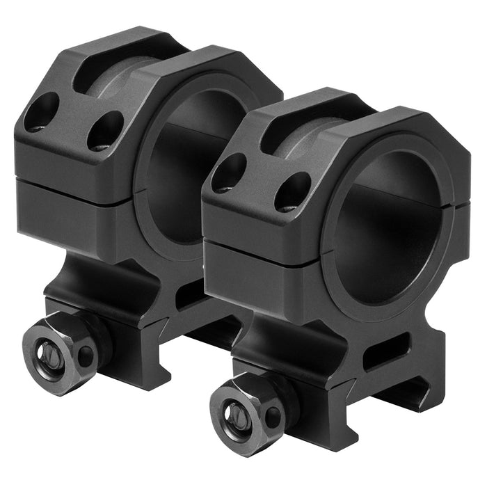 NcStar VR30T11 30-mm x 1.1-Inch Aluminum Multi-Mounting Tactical Scope Rings