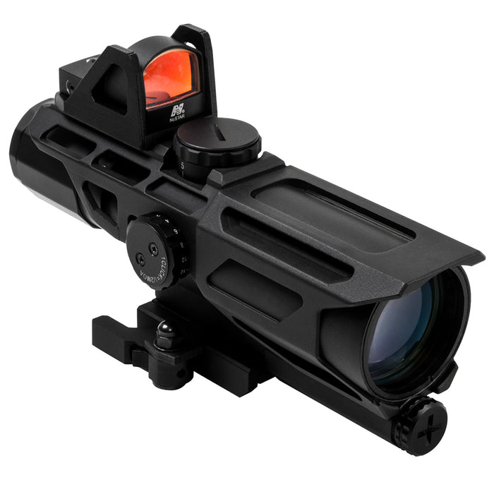 NcStar VSTP3940GDV3 3-9x40mm P4 Sniper GEN III Ultimate Sighting System, Black