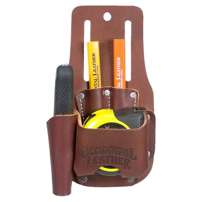 Occidental Leather 5047 Tape and Knife Tool Holder - Stanley upto 35-Ft
