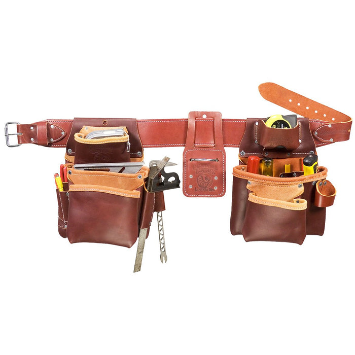 Occidental Leather 5080XL Pro Framer Framing Tool Bag Set - Size XL