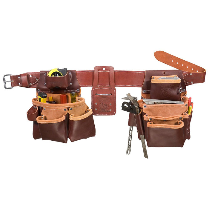 Occidental Leather 5089LHLG Left Hand Pro Framer Framing Tool Bag Belt - Large