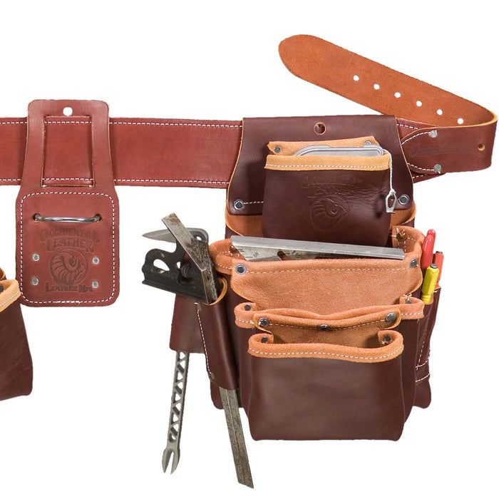 Occidental Leather 5089LHM Left Hand Pro Framer Framing Tool Bag Belt - Medium
