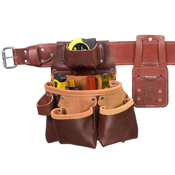 Occidental Leather 5089LHSM Left Hand Pro Framer Framing Tool Bag Belt - Small