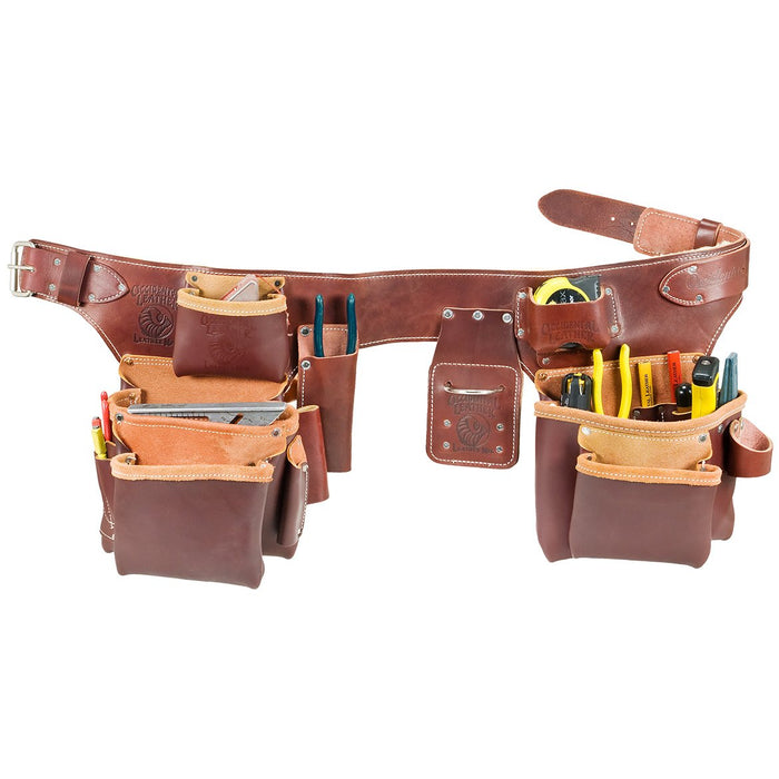Occidental Leather 5191LG Pro Carpenter 5 Bag Assembly Tool Belt - Size Large