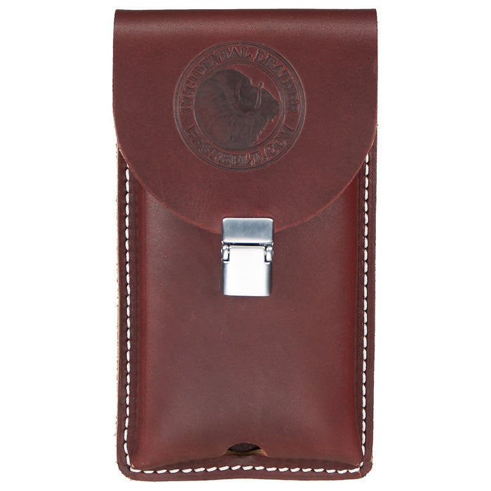 Occidental Leather 5328 Clip-On Leather Phone Holster for iPhone Case - Large