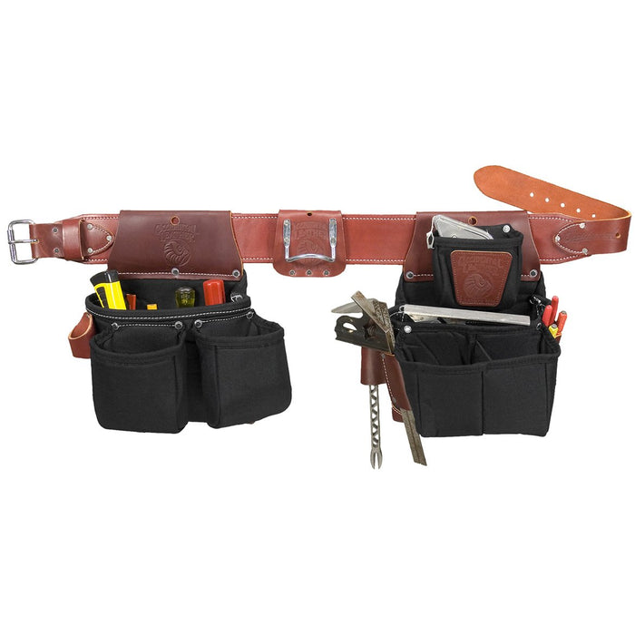 Occidental Leather 8086LH Lefthand OxyLights Framer Framing Tool Bag Belt -Large