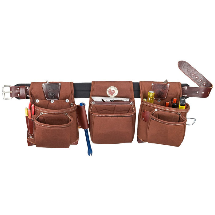 Occidental Leather 8385 Black Belt Stronghold Rough Framer Tool Bag Set - Small
