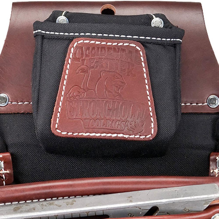 Occidental Leather 8581 FatLip Fastener Screw Nail Bag Holder