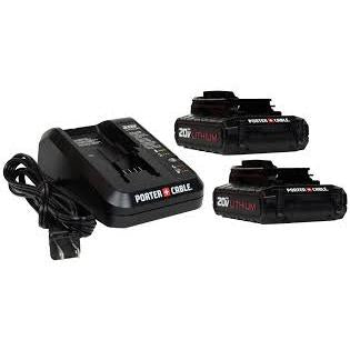 Porter Cable PCC692l 20v Li-ion Battery Charger