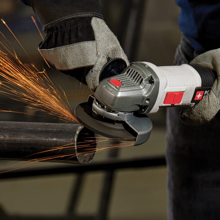 Porter-Cable PCEG011 4-1/2-Inch 6-Amp Heavy Duty Corded Angle Grinder w/ Handle