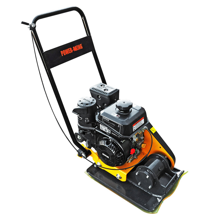 Power King PK0204 3400 lb. 6 HP Kohler Engine 4-Stage Filter Combo Compactor
