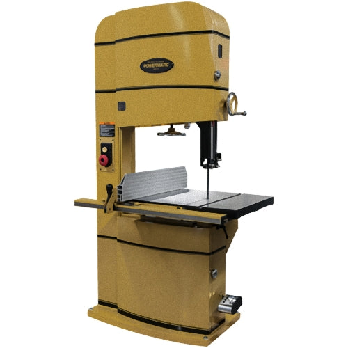 "Powermatic PM2415B 5-Hp 230V 24"" x 15"" Heavy Duty Vertical Bandsaw"