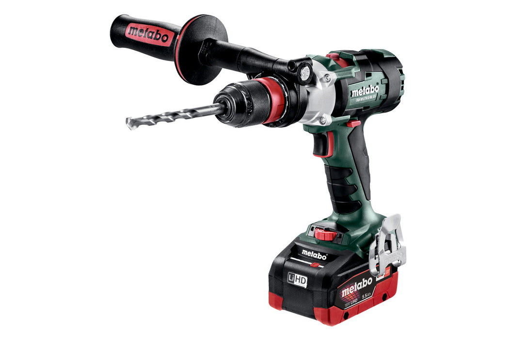 Metabo 602357620 18-Volt 5.5Ah LiHD Cordless Brushless Hammer Drill/Driver Kit