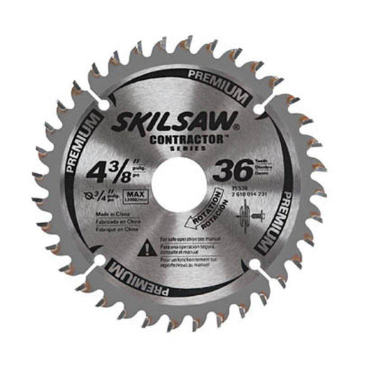 SKIL 75536 4-3/8-Inch 36-Tooth Tungsten-Carbide Multi-Purpose Circular Saw Blade
