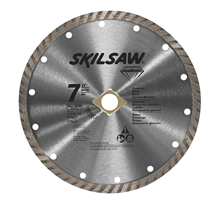 SKIL 79510C 7-Inch Turbo Rim Diamond Masonry Circular Saw Blade