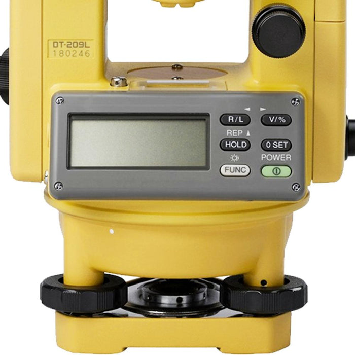 Topcon DT-209L Horizontal and Vertical Digital Theodolite w/ Laser -303217141