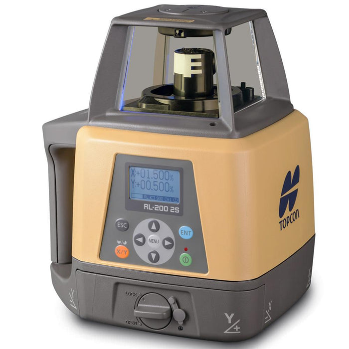 Topcon RL-200 2S High Accuracy/Value Slope Dry Battery Laser -314920722