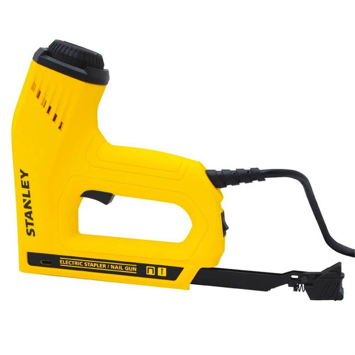 Stanley TRE550 Heavy-Duty Quick Jam Clear Electric Staple/Brad Nail Gun