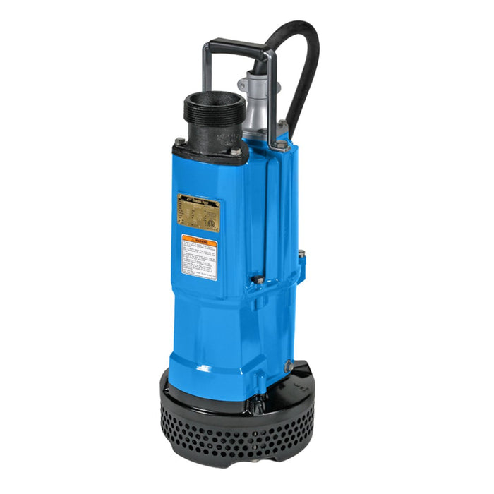 Tsurumi NK2-15 2-Inch 2 HP 1-Phase Durable Electric Submersible Dewatering Pump