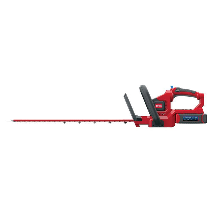 Toro 51491T 40-Volt 24-Inch PowerPlex Dual Action Hedge Trimmer - Bare Tool