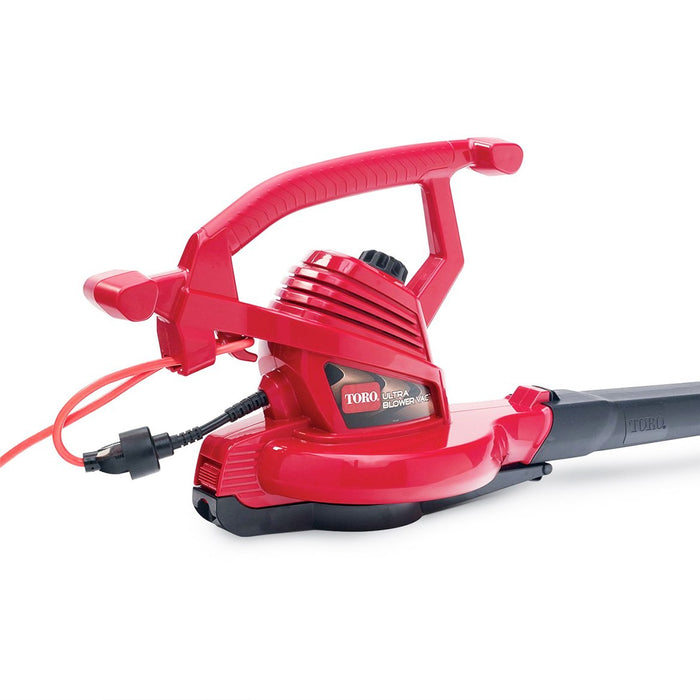 Toro 51619 250-Mph 3-in-1 Electric Corded Ultra Leaf Blower Vacuum Shredder