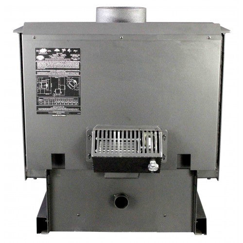 US Stove 2000 89,000-BTUs 100-CFM 2,000-Sq.Ft. Medium EPA Certified Wood Stove