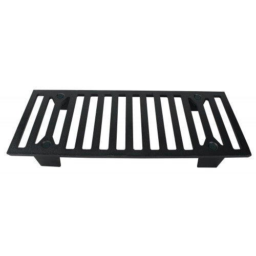 US Stove G42 Heavy Duty Fireplace Grate Large Cast Iron Grate for Logwood
