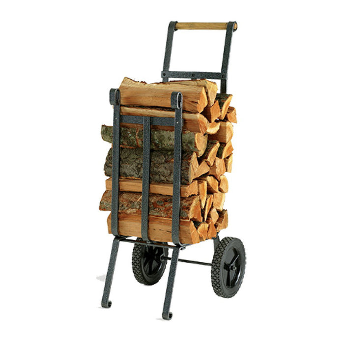 Vogelzang LC-37 Dolly-Like Heavy Duty Steel Wood Log Cart Holds 50-lbs