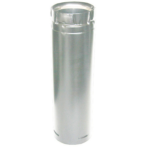DURAVENT SD3136 4-inch X 36-inch 18-Gauge Heat Resistant Stainless Steel Pipe