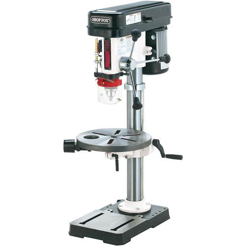 "Shop Fox W1668 3/4 Hp 13"" Benchtop Drill Press w/ Built-in Dust Collection"