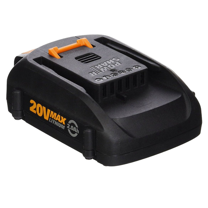Worx WA3575 20-Volt 2.0Ah Max Lithium-Ion Battery Pack