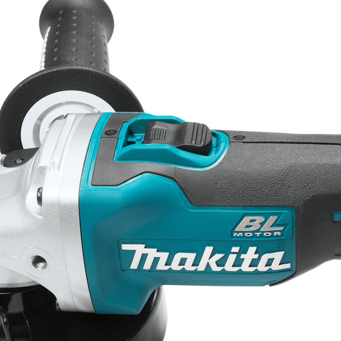 Makita XAG04Z 18-Volt 5-Inch Brushless Cordless Cut-Off/Angle Grinder- Bare Tool