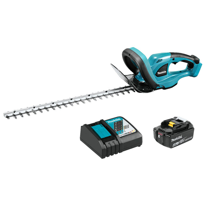 Makita XHU02M1 18-Volt 22-Inch 4.0Ah Lithium-Ion Cordless Hedge Trimmer Kit