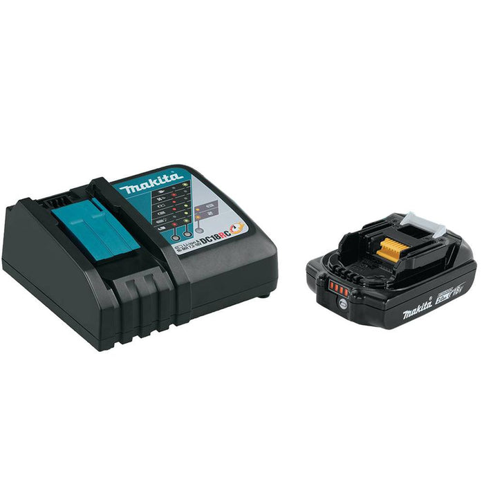 Makita XPH10R 18-Volt 1/2-Inch 2.0Ah Compact Lithium-Ion Hammer Driver-Drill Kit