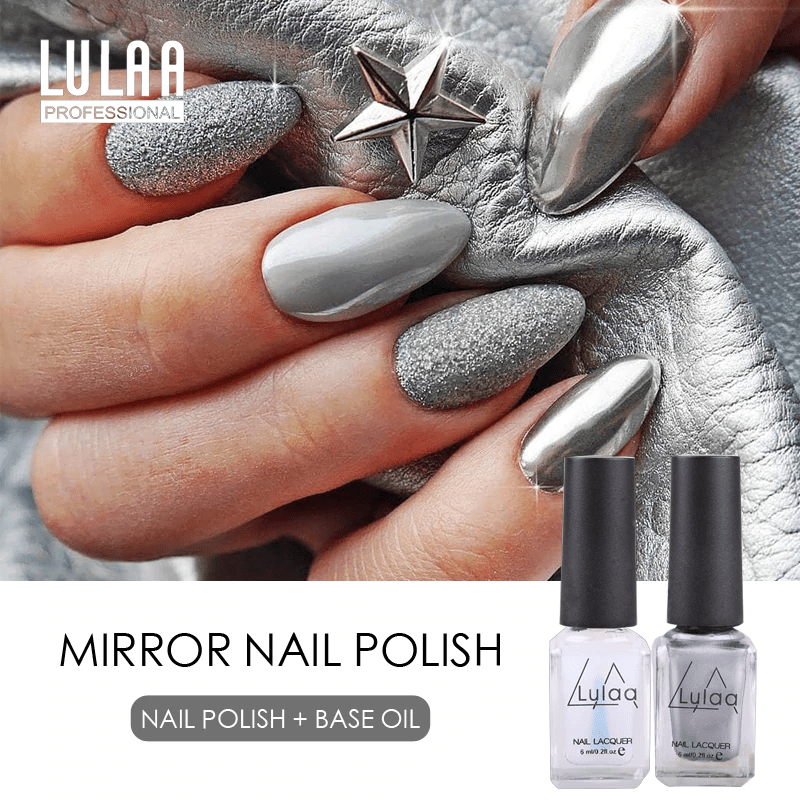 LULAA - Nail Gel Polish Mirror Effect-Naily