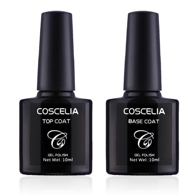 2pc Top+Base Gel for Nails Tips Cover - Naily