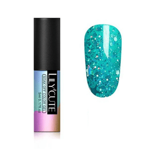 LILYCUTE - Nude Color Glitter UV Gel-Naily