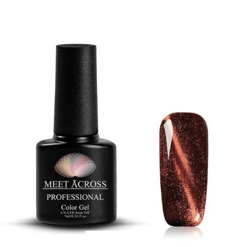 MEET ACROSS - 3D Chameleon Cat Eye UV Gel-Naily