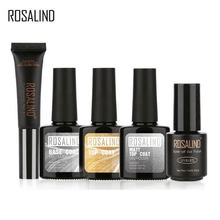 Load image into Gallery viewer, ROSALIND Base & Top Coat - Matt Top Gel Nail Polish Set-Naily