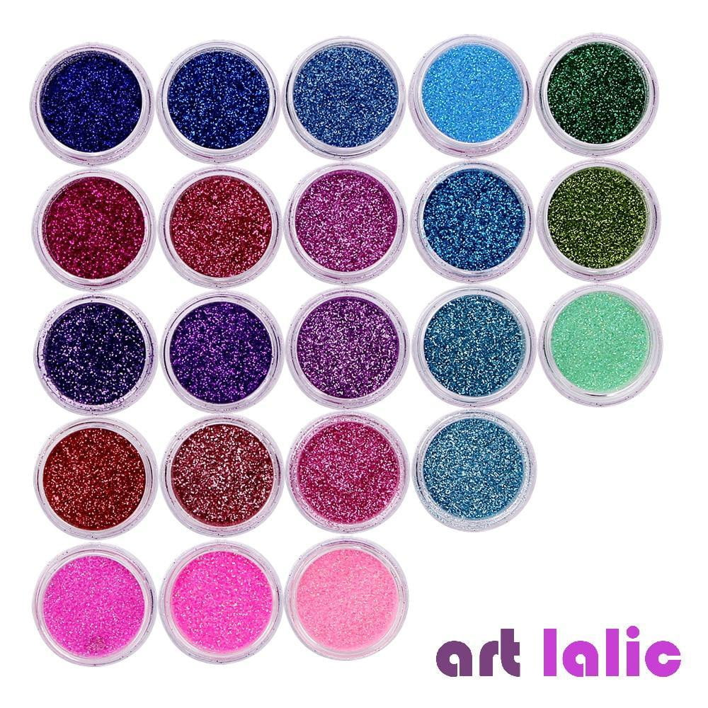Art lalic - 40Pcs/Set Nail Glitter - Naily