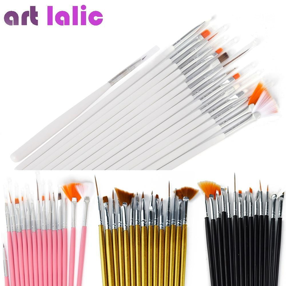 Art lalic - Brush Decorations Set - Naily