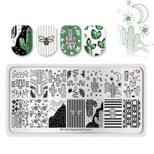 Load image into Gallery viewer, BORN PRETTY - Nail Art Stamping Template - Naily