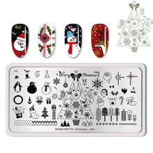 Load image into Gallery viewer, BORN PRETTY - Nail Stamping Plates Flamingo - Naily