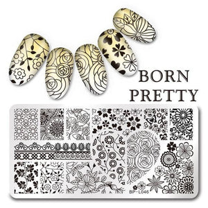 BORN PRETTY - Nail Stamping Plates Flamingo - Naily